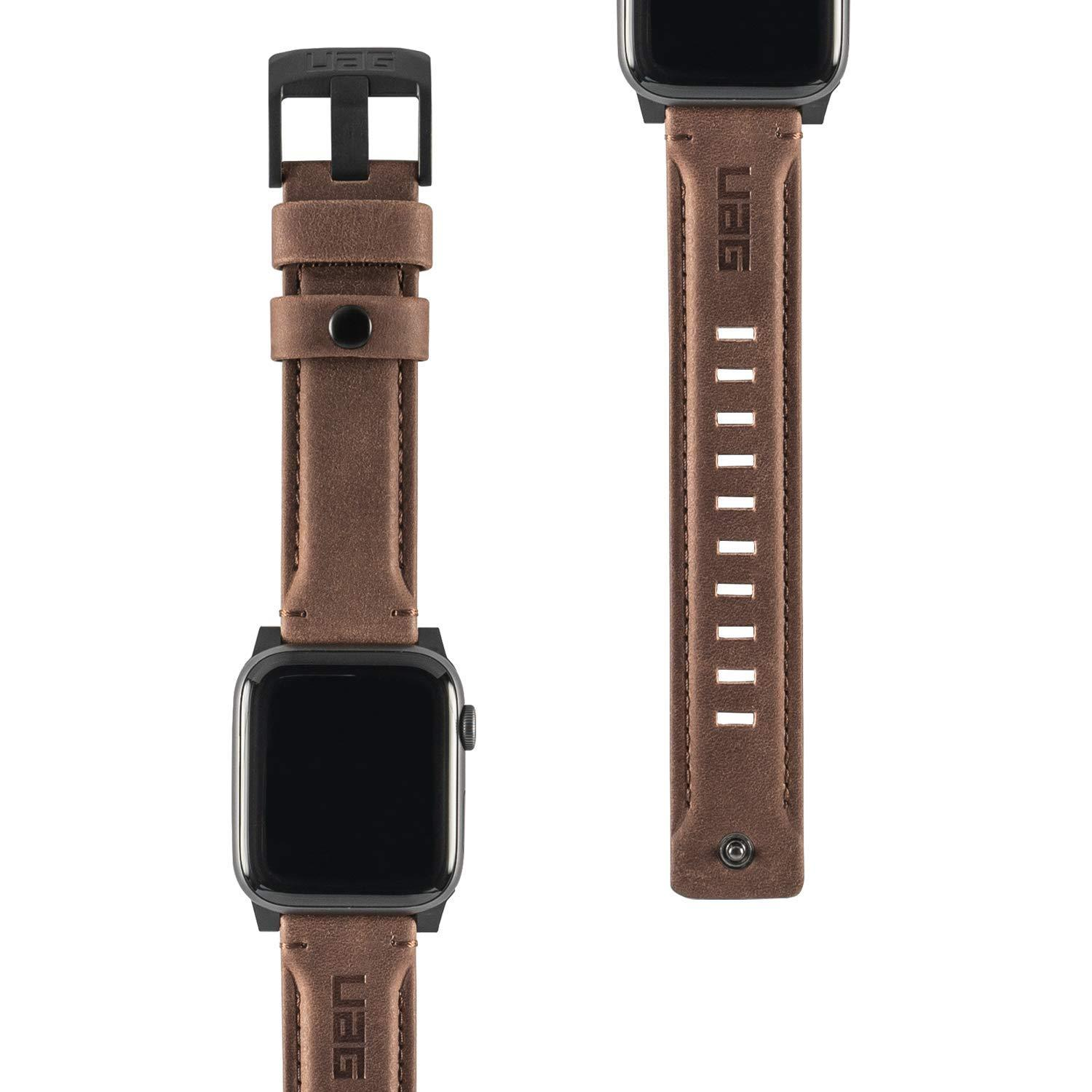 Original UAG Leather Strap for Apple Watch 44mm  & 42mm, Series 4/3/2/1, Leath