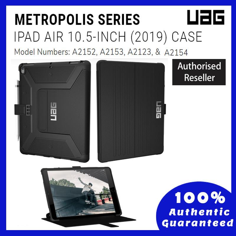 ORIGINAL UAG Metropolis New iPad Air 10.5 Inch (2019) Magma with Pencil Holder