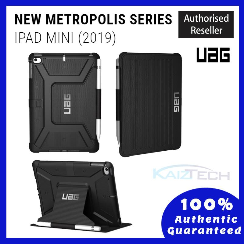ORIGINAL UAG Metropolis Protection Case for Apple iPad Mini 5 2019 (Black) wit