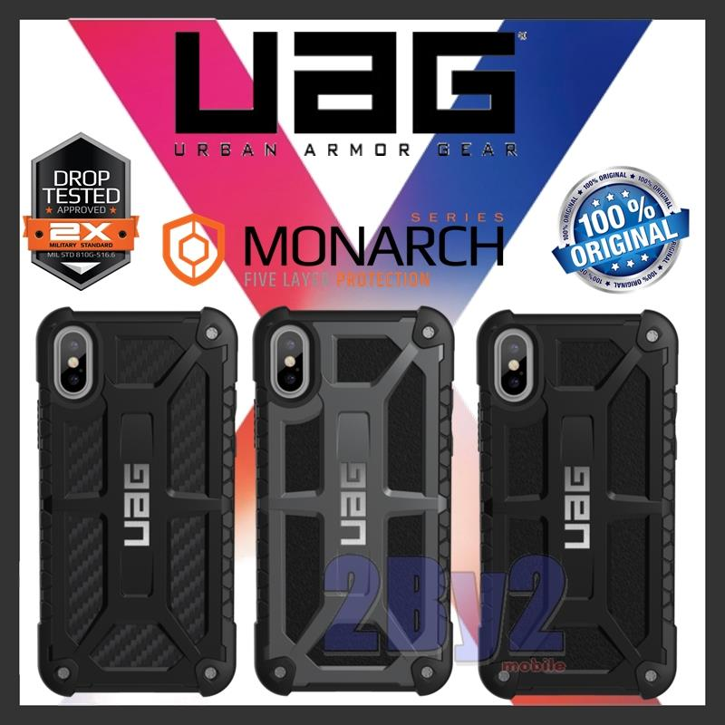 Original UAG Urban Armor Gear MONARCH iPhone X case cover