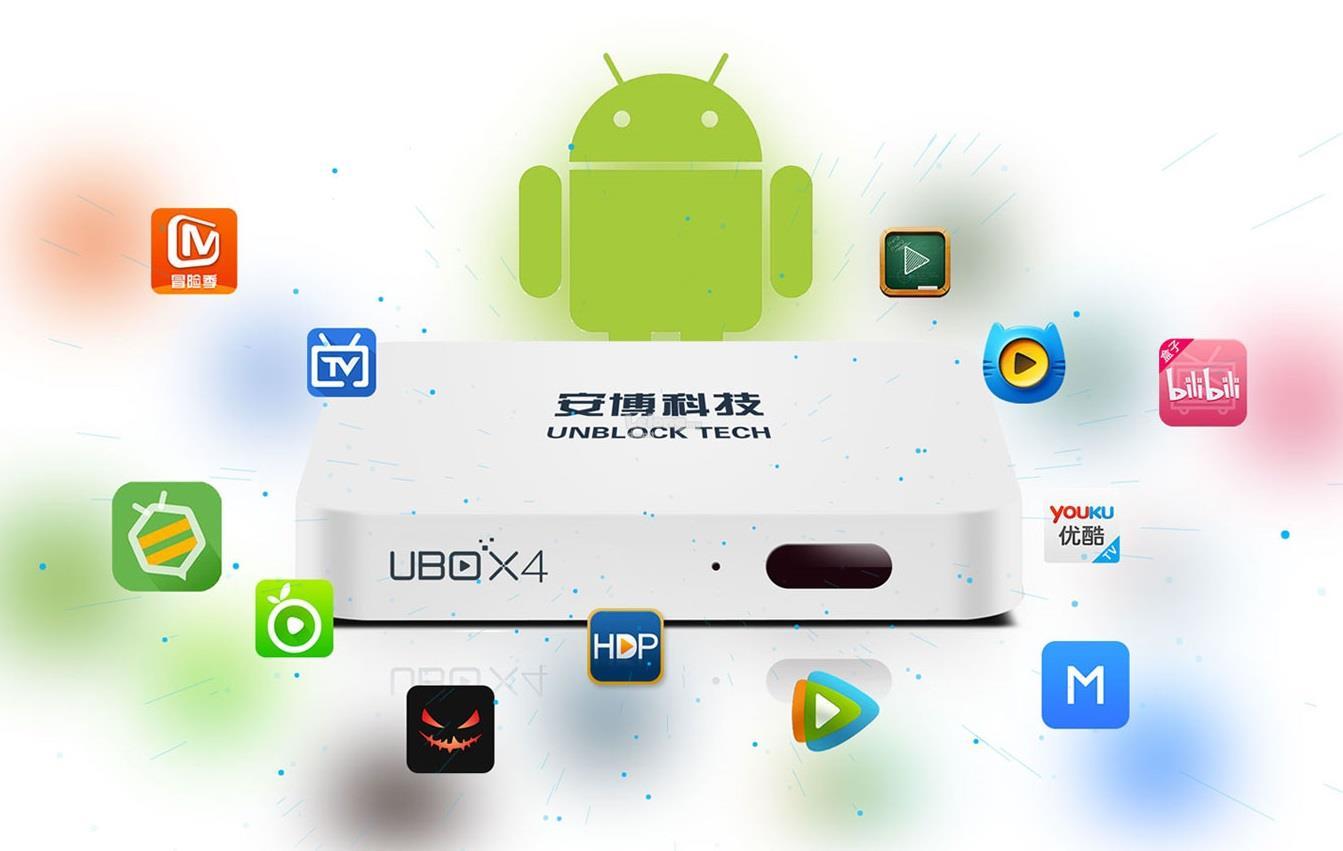 Original Unblock Tech UBOX TV Box Gen 4 S900 Pro-BT (Bluetooth Version)