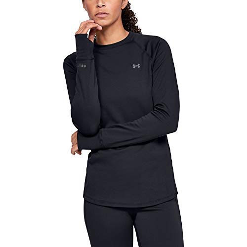 *Original* From USA Under Armour Womens Base Crew 3.0 Crew-Neck T-Shirt