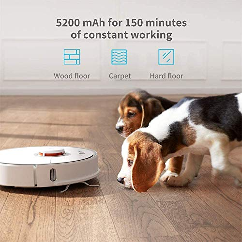 *Original* From USA Roborock S5 Robotic Vacuum and Mop Cleaner, 2000Pa Super P