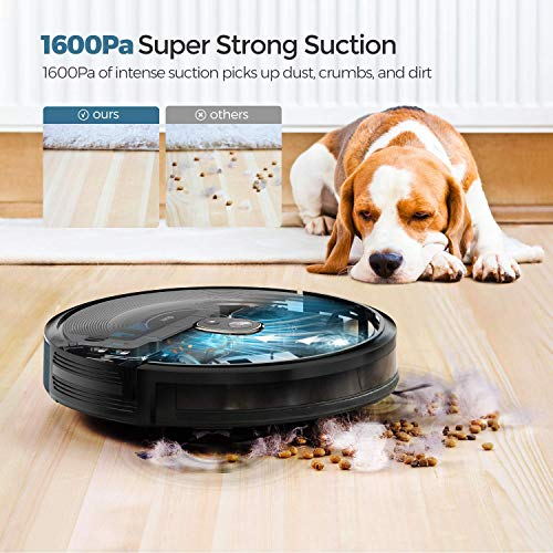*Original* From USA Robot Vacuum Cleaner, dser 1600pa Strong Suction, Wi-Fi Co