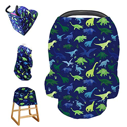 *Original* From USA Stretchy Baby Car Seat Cover for Baby Boys and Girls,Multi