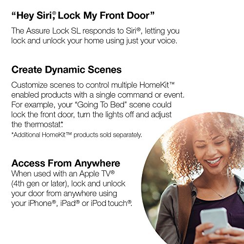 *Original* From USA Yale Security Assure Lock SL - Key Free Smart Lock with To