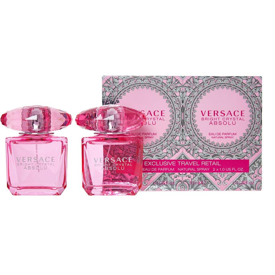 30mlEdp Bright Original Absolu Versace Perfume 60ml2x Gift Crystal mw8nOvN0