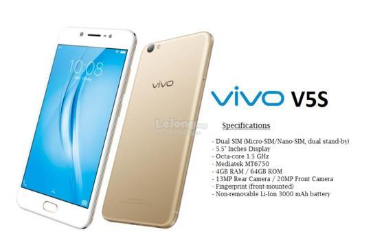 (ORIGINAL) VIVO Msia V5s 4GB RAM 64GB 20MP CAMERA