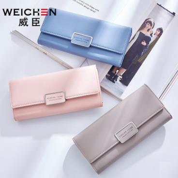 ad38f6529 Original WeiChen Korea Fashionable Trendy Long Women Lady Purse Wallet. ‹ ›