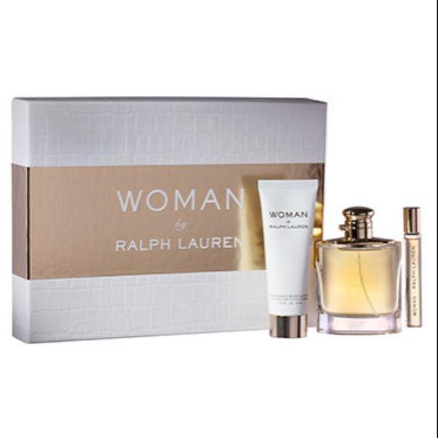 262676b24 ORIGINAL Woman By Ralph Lauren 100ml EDP Perfume Gift Set. ‹ ›