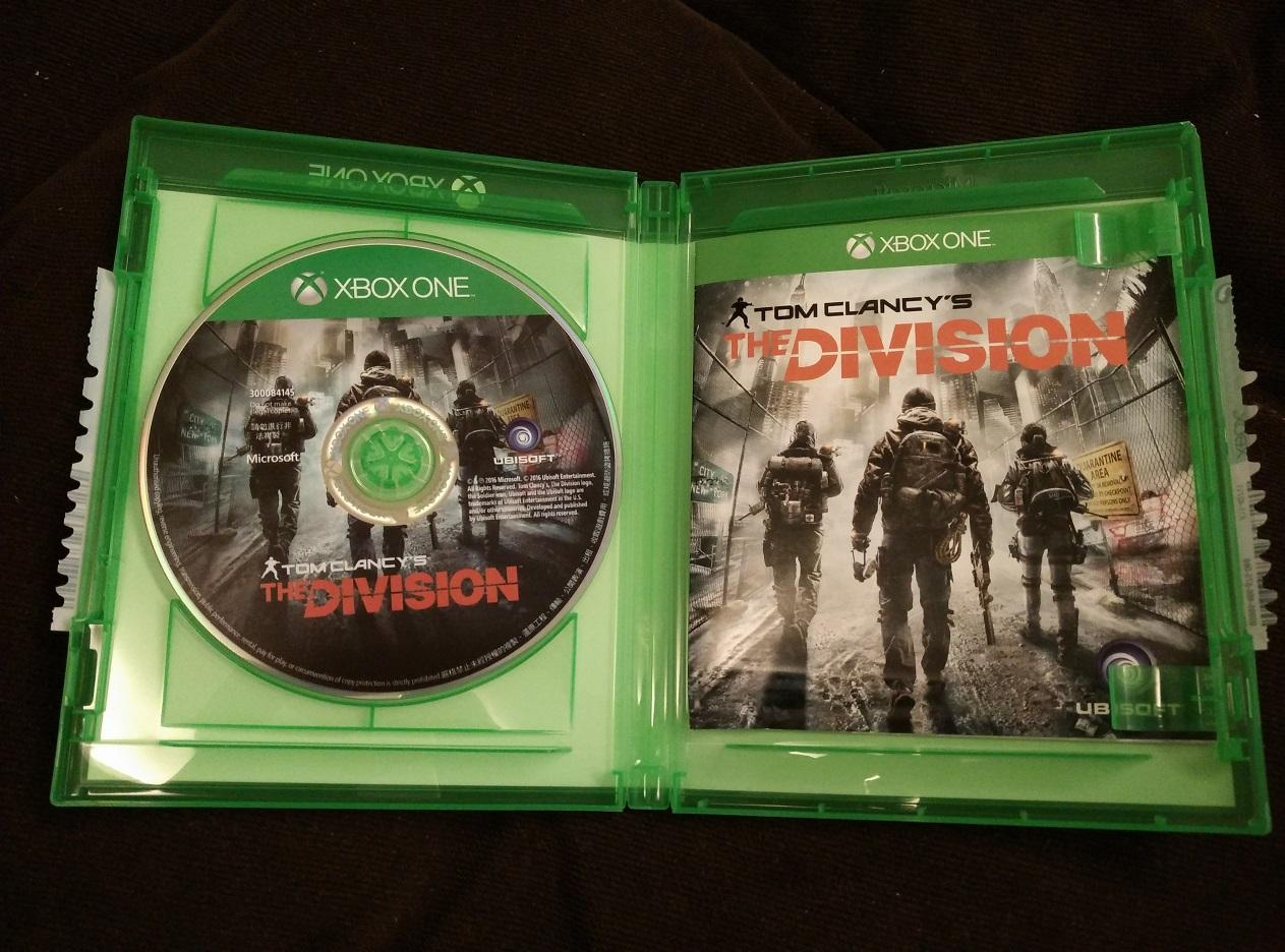 [ Used ] Original Xbox one / Xbox1 / XB1 The Division
