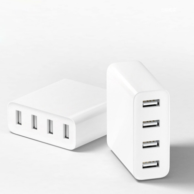 Original Xiaomi Mi 4 Ports USB Charger 2A Fast Charge with Overload Pr..