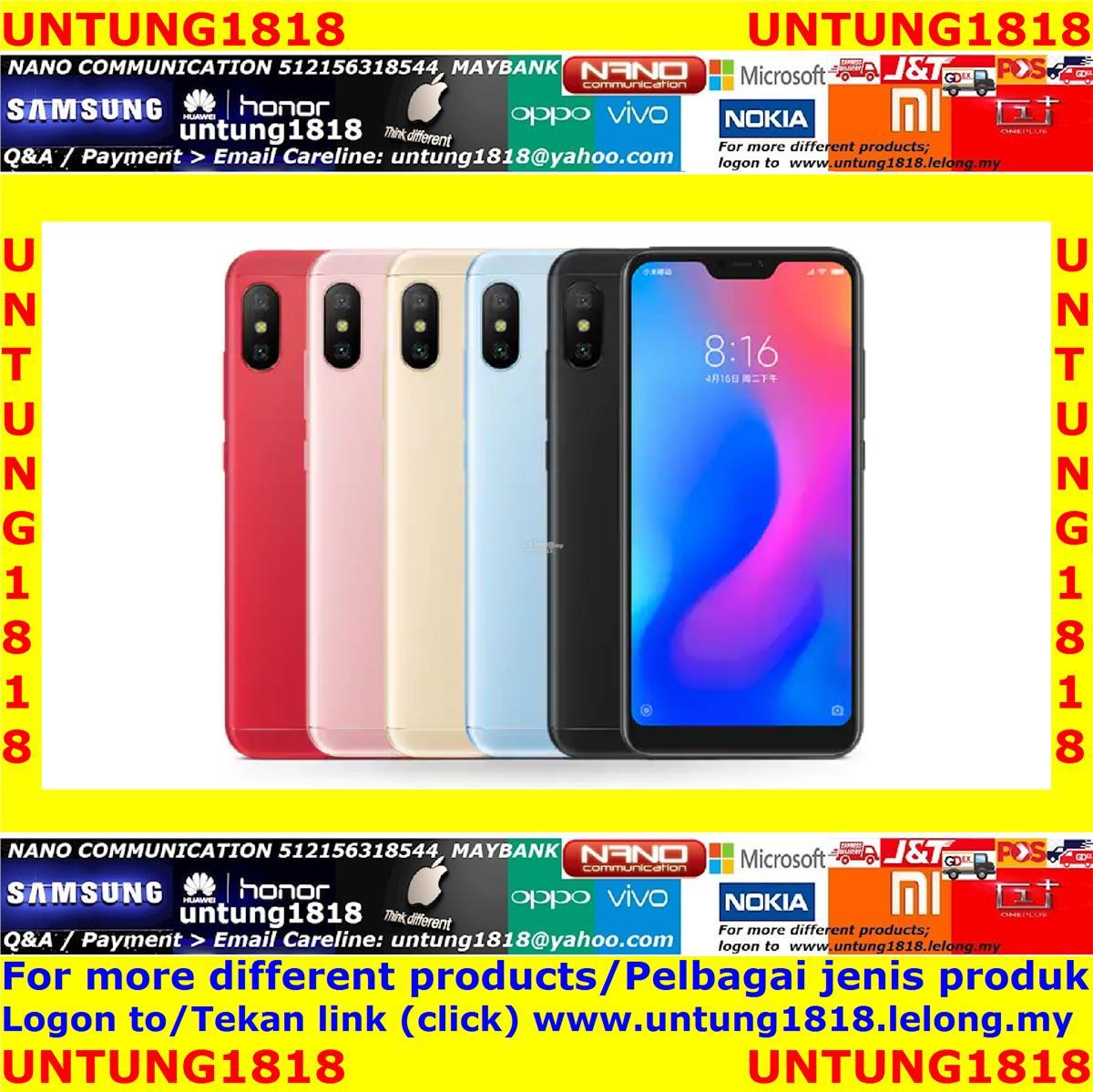 ORIGINAL Xiaomi Mi A3 A2 A2 Lite A1 MiA3 MiA2 MiA2 Lite MiA1