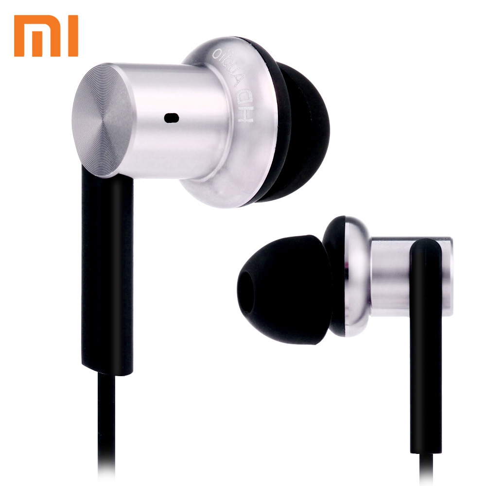 ORIGINAL XIAOMI MI IV IN-EAR 3.5MM WIRED HYBRID DYNAMIC AND TWO BALANC..
