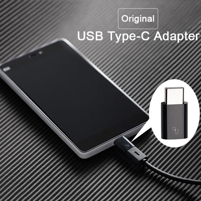 Original XIAOMI Mi Micro USB Type C Type-C Converter 100% Genuine