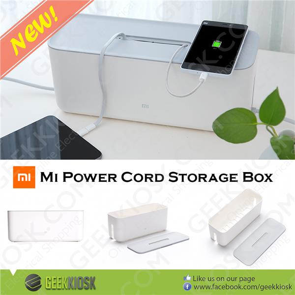 Original Xiaomi Mi Power Cord Storage Box