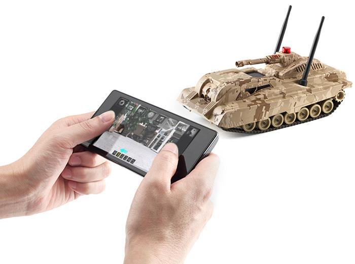 Original XIAOMI Mi Tank WiFi Remote Camera Music FOC Shipping