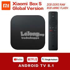 [Original] Xiaomi Mibox S Mi Android TV Box [Global Version - Netflix,