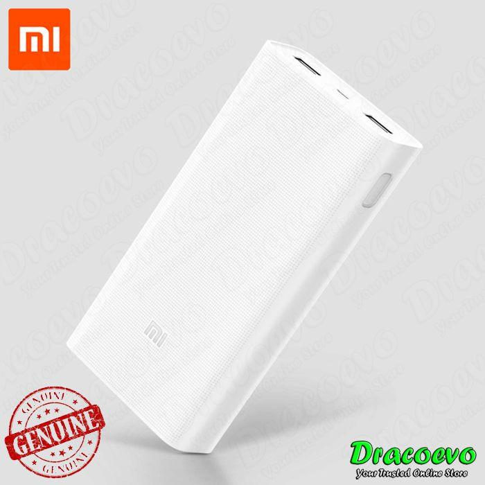 Original Xiaomi Power Bank 2C 20000 mAH QC Quick Charge 3.0 Dual USB
