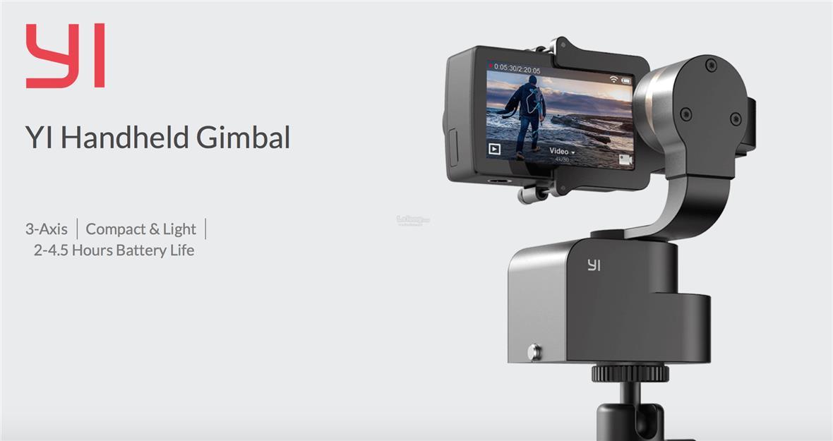 Original XIAOMI Xiaoyi Yi Handheld Gimbal Action Camera Sport Cam 4K