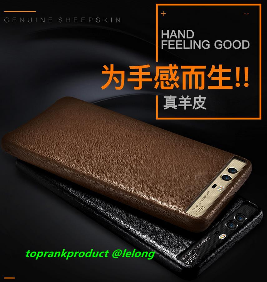 finest selection 7f3b2 5b6ca Original XOOMZ Huawei P10 / Plus Real Leather Back Case Cover Casing