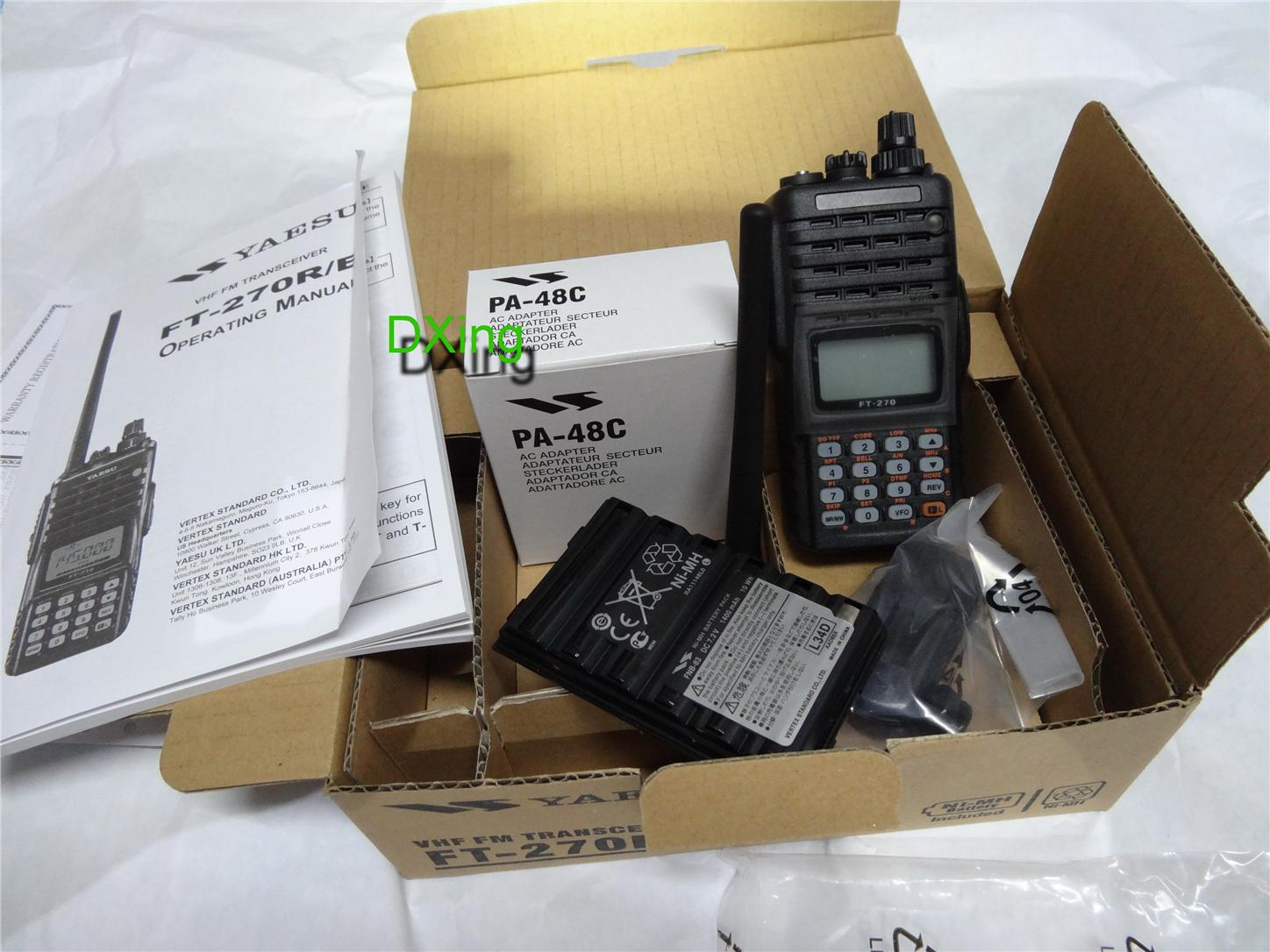Original Yaesu FT-270R VHF Ham Radio/Amateur Radio/Radio Amatur/