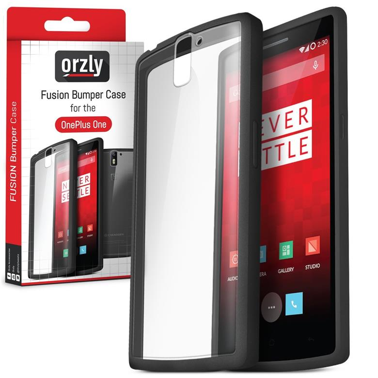 buy popular d8a99 6e317 Orzly Fusion Bumper Case for OnePlus 1/ OnePlus One / 1+1