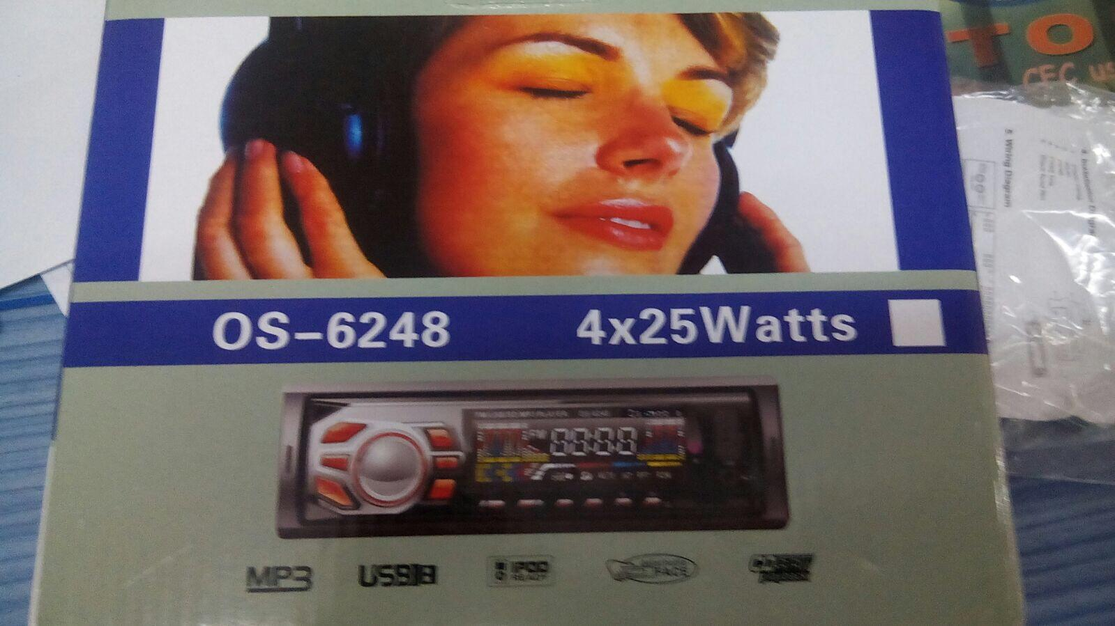 OS Audio FM USB car player