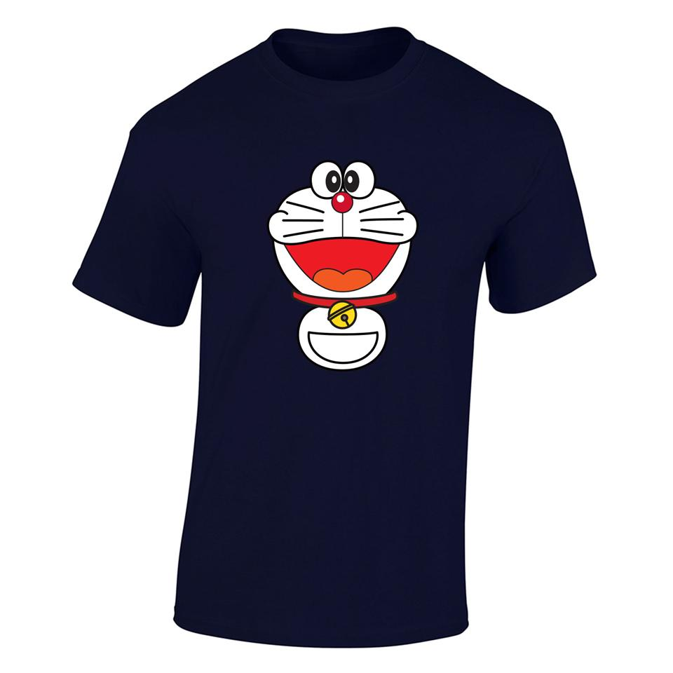 OS524M Cartoon Doraemon Men T-shirt