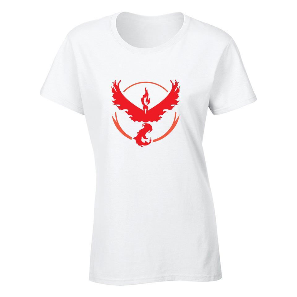 OS552F Pokemon Go Valor C Female T-shirt