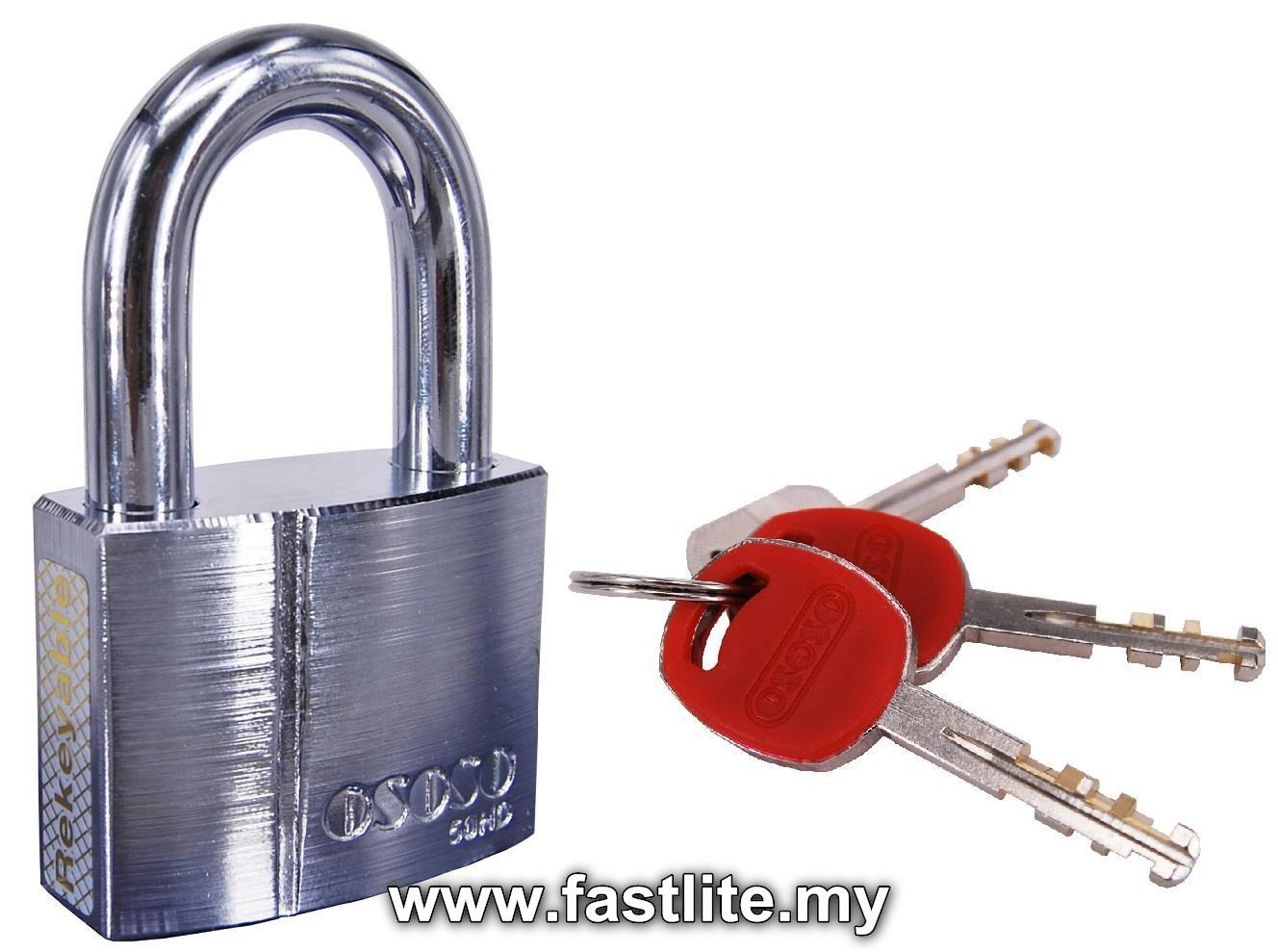 OSOSO™ 50mm Heavy Duty (HD) Padlock