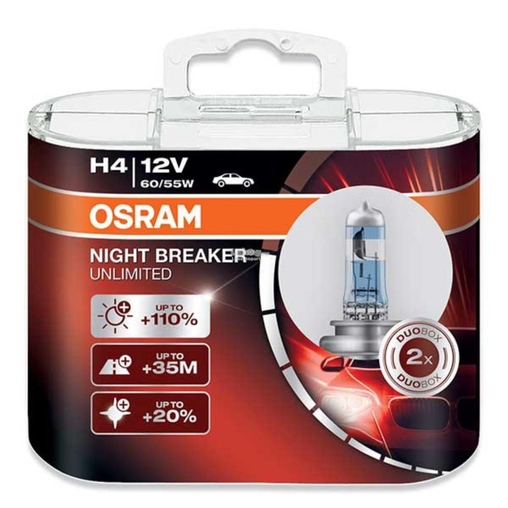 osram h4 night breaker unlimited 10 end 11 23 2018 2 15 pm. Black Bedroom Furniture Sets. Home Design Ideas