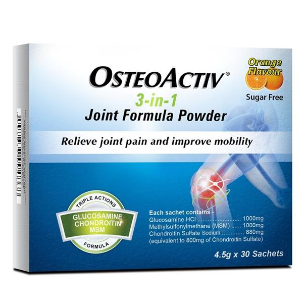 Osteoactiv 3-in-1 Joint Formula Powder 30's