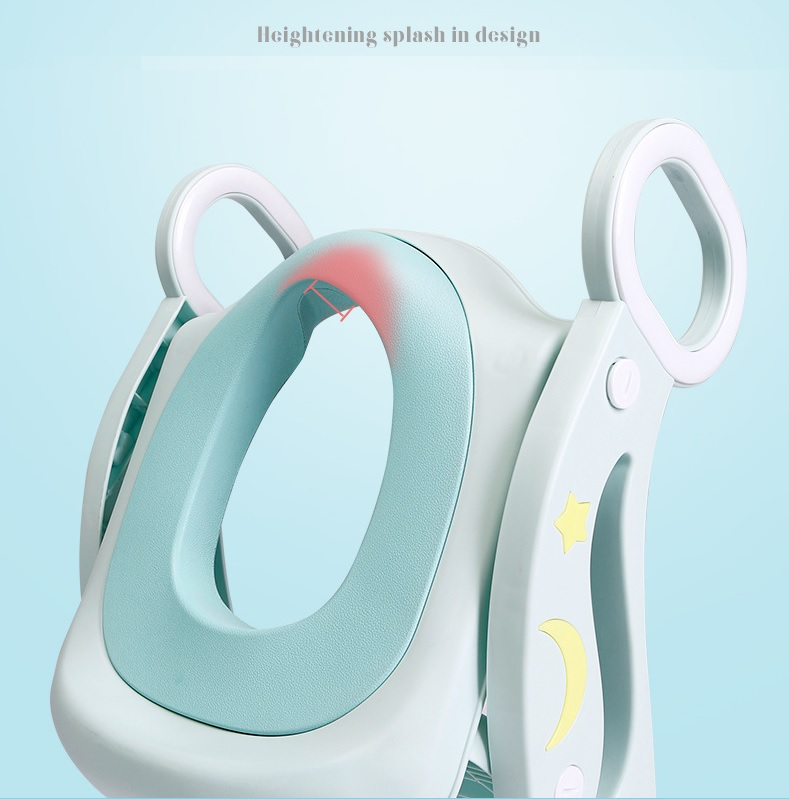 OSUKI Foldable Baby Toilet Seat With Ladder