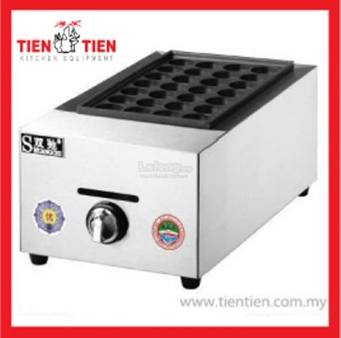 OT/OT05 TIEN TIEN Single Plate Gas Takoyaki Maker