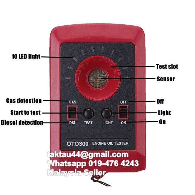 OTO300 Motor Engine Oil Tester for Trucks Tractors Boats Car Engine