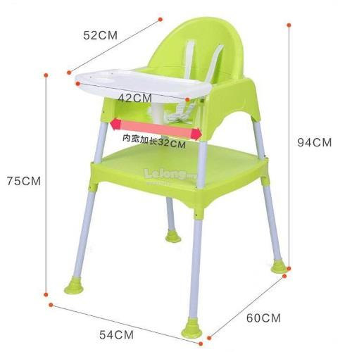 Otomo: 2 In 1 Baby High Chair