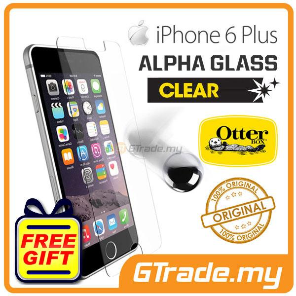 new products 19ceb df7a8 OTTERBOX Alpha Glass Screen Protector | Apple iPhone 6S Plus - Clear
