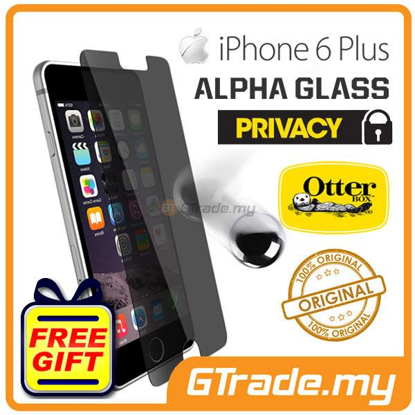 san francisco af39b a06c5 OTTERBOX Alpha Glass Screen Protector | Apple iPhone 6S Plus - Privacy