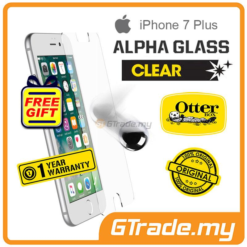 new product 7b597 8cd1a OTTERBOX Alpha Glass Screen Protector | Apple iPhone 7 Plus Clear