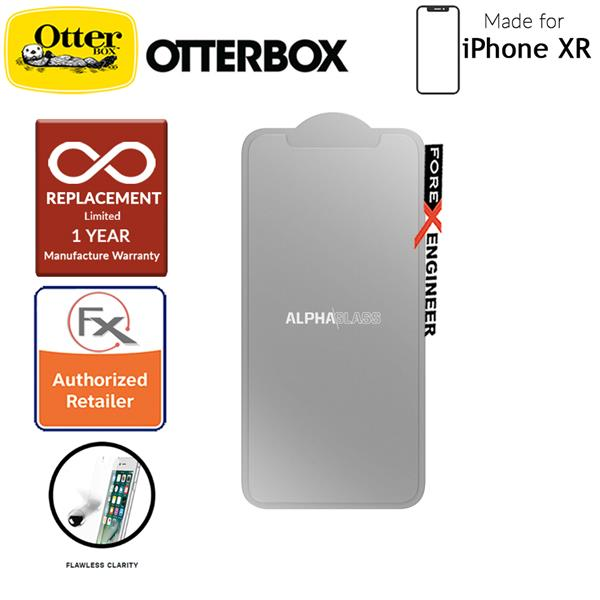 promo code bc3c2 5c258 OtterBox Alpha Glass Screen Protector for iPhone XR - Tempered Glass