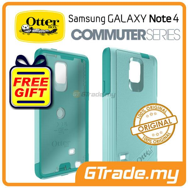 cheap for discount e25d1 b1a4d OTTERBOX Commuter Case FOC Protector | Samsung Galaxy Note 4 Aqua Sky