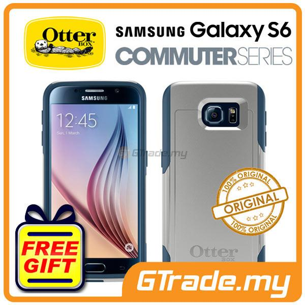 reputable site e4b24 bea7e OTTERBOX Commuter Case FOC Protector | Samsung Galaxy S6 Casual Blue