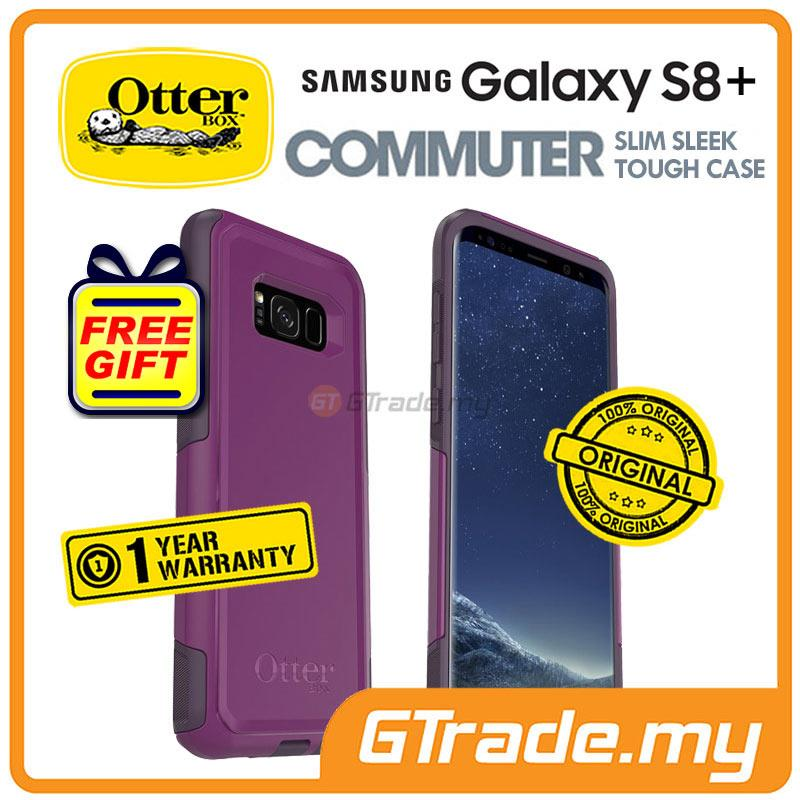 on sale 826d6 201df OTTERBOX Commuter Dual Layer Case Samsung Galaxy S8 Plus Plum