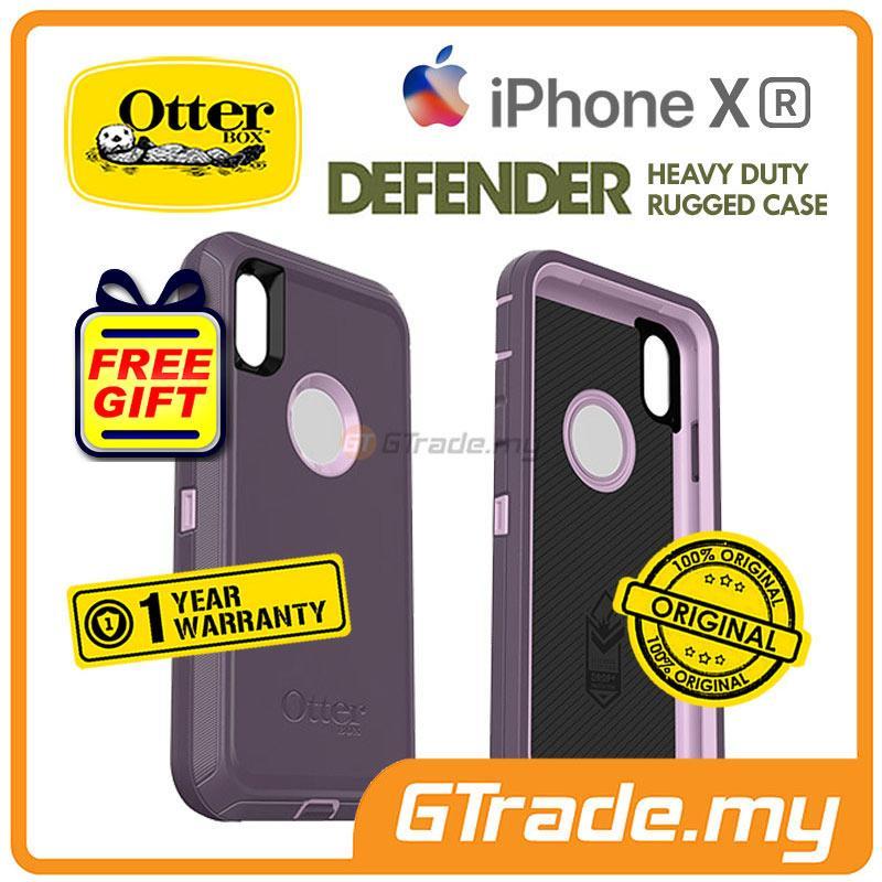 newest 89e4d 1b04b OTTERBOX Defender Belt Clip Holster Case | Apple iPhone Xr - Purple
