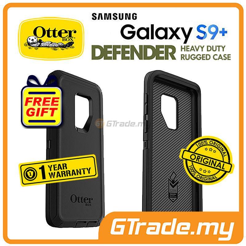 finest selection 89c98 123e2 OTTERBOX Defender Belt Clip Holster Case Samsung Galaxy S9 Plus Black