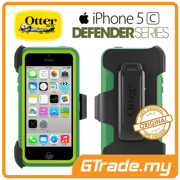 timeless design bde59 a6b4f OTTERBOX Defender Case + Klip Holster | Apple iPhone 5C - Peppermint