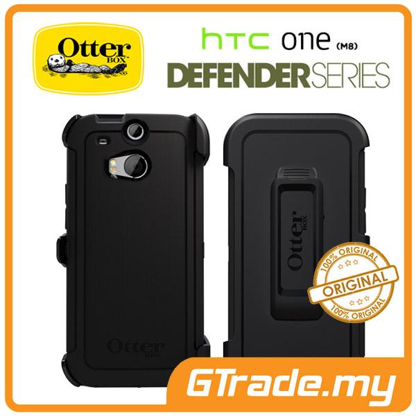 buy popular e34b2 5f440 OTTERBOX Defender Case + Klip Holster | HTC One M8 - Black