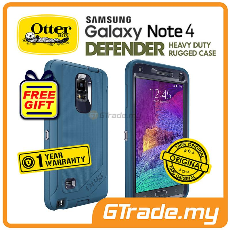 new style d3846 5664a OTTERBOX Defender Case + Klip Holster | Samsung Galaxy Note 4 Ink.BL