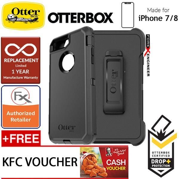 timeless design adec3 d075b Otterbox Defender Series for iPhone 8 / 7 - Black
